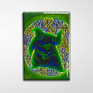 Oogie Boogie Nightmare Before Christmas Decorative Art Magnet - 2x3