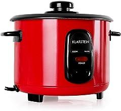Klarstein Osaka 1 Cuiseur à riz électrique (400W, fonctions réchauffage et maintien au chaud, capacité de 1L, cuillère et ...
