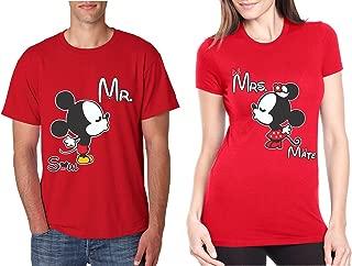 Couple T Shirt Mr Mrs Soul Mate