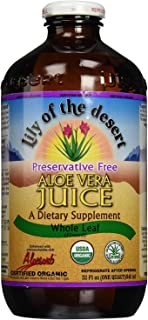 Lily Of The Desert Juice Aloe Vera Pf Whl Lea (3 Pack of 32 ounces)