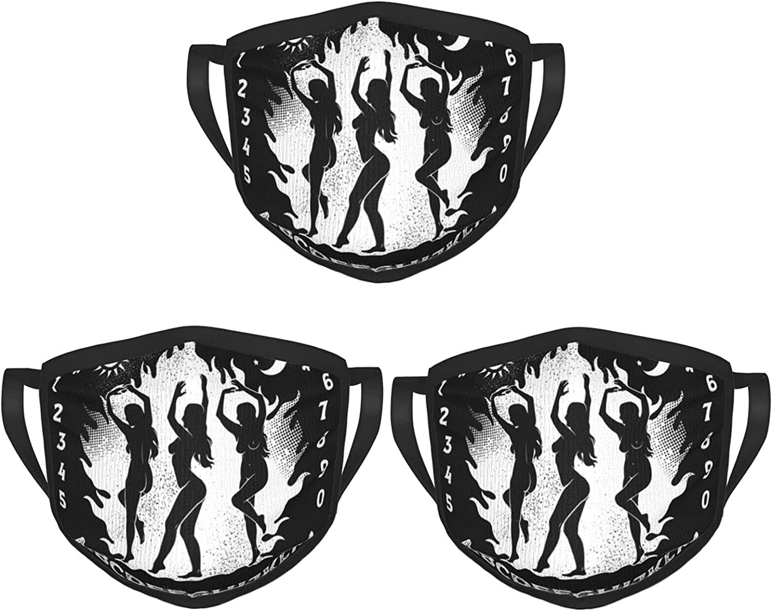 Balaclava Earmuffs Spirit Ouija Board Ouija With Witches Good Bye Face Mouth Cover Mask Reusable Windproof Scarf Towel Cover Headwrap