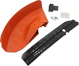 MODIFY-GT Protector deflector para cortacésped Stihl FS110 FS130 FS160 FS180 FS200 FS220 FS240 FS250, sustituye a # 4119 007 1013,4119 007 1027