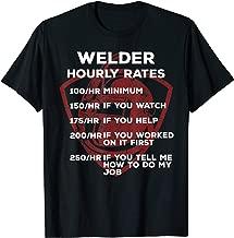 Welder hourly rates - Funny Gifts Men Welding T-Shirt