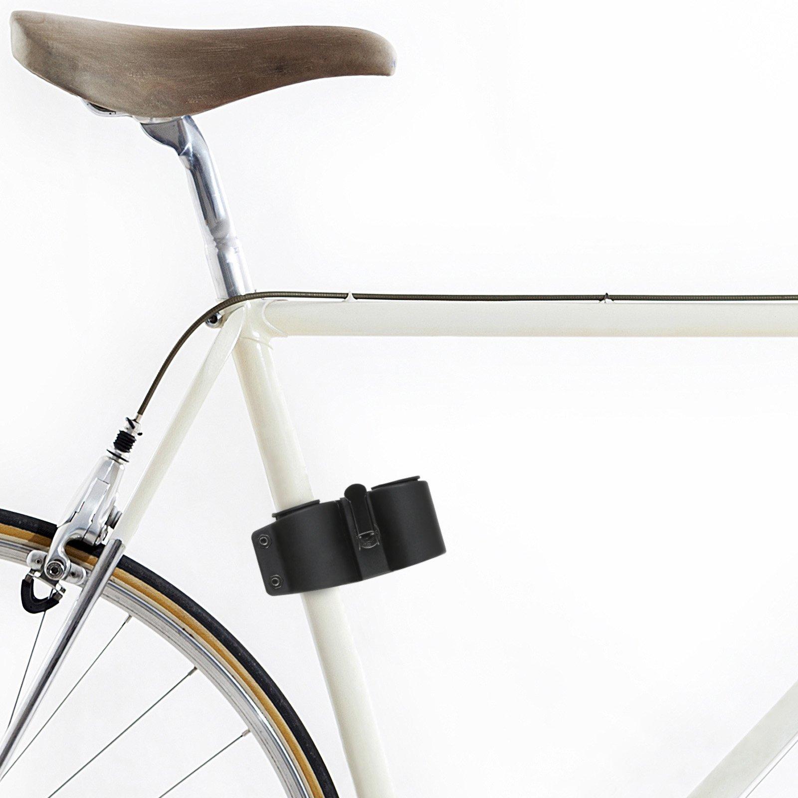 Soporte de candado de bicicleta, apto para candados tipo D/U ...