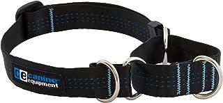 Canine Equipment Technika 1-Inch All Webbing Martingale Dog Collar, X-Large, Black