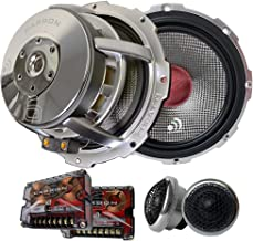 $419 » Sponsored Ad - Massive Audio Carbon 6 – 6.5 Inch, 280 Watts RMS and 500 Watts MAX, 25mm Silk Dome Tweeter, 4 Ohm, 12dB Lin...