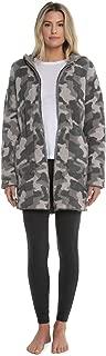 Barefoot Dreams CozyChic Camo Anorak, Hooded Zip-Up Jacket for Women
