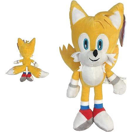 """Sonic - Peluche Tails Miles Prower 13 """"/ 33cm Couleur Jaune Couleur Noir Qualité Super Soft"""