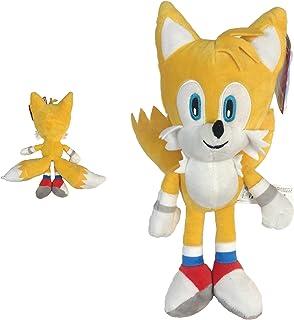 "Sonic - Peluche Tails Miles Prower 13""/33cm Color Amarillo Calidad Super Soft"