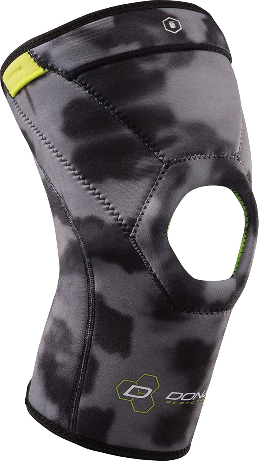 DonJoy Performance ANAFORM Knee Support Compression Sleeve  4 mm Open Patella, Camo, XSmall