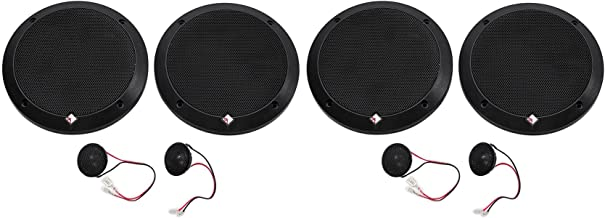 """$279 » Sponsored Ad - 2-Pairs Rockford Fosgate P1675-S Punch 6.75"""" 240w Car Audio Component Speakers"""