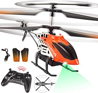 Remote Control Helicopter,VATOS RC Helicopter for Adults Kids 22 Mins Long Flight Time 3.5 Channel Altitude Hold Mini Heli...