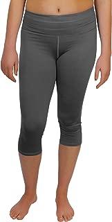 One Five Basics 女士瑜伽紧身裤带拉链口袋,高级材料,采用吸汗技术