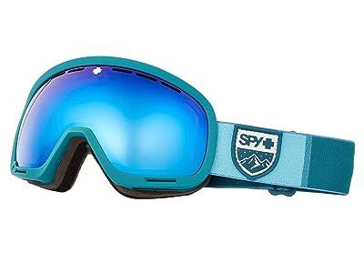 Spy Optic Marshall (Colorblock Teal Hd Plus Rose w/ Dark Blue Spectra Mirror + Hd) Snow Goggles