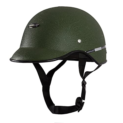 Habsolite All Purpose Safety Helmet with Strap for Bikes (Green, Free Size)