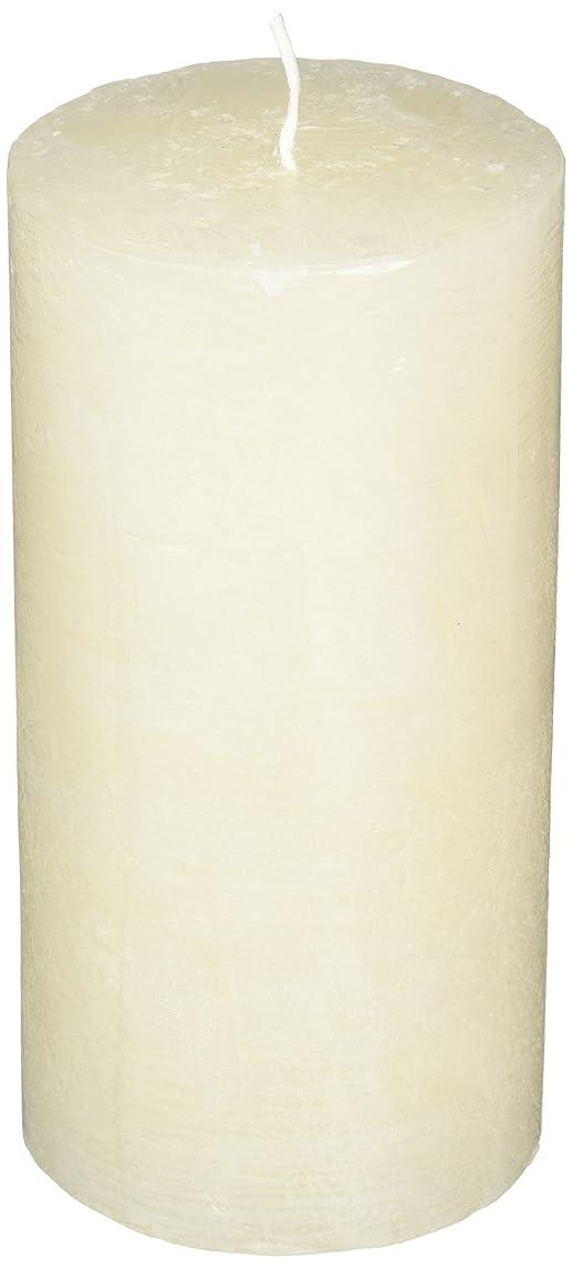 頻繁に伸ばす時々時々ラスティクピラー3×6 「 シルキーホワイト 」 キャンドル A4890020SWH