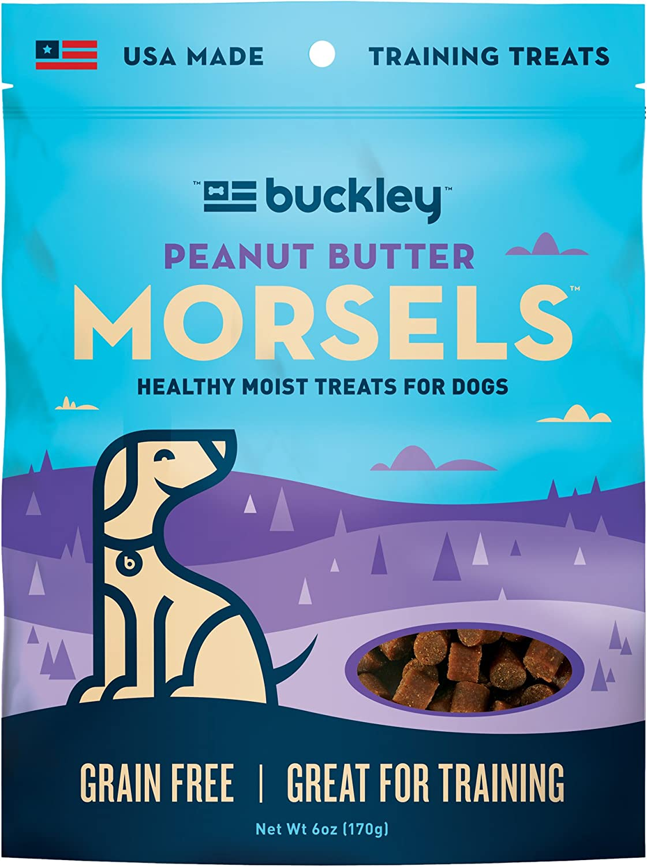 Buckley Original Ranking TOP5 Morsels Dog 6-Ounce Los Angeles Mall Treats Jerky
