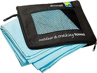 Mikrofaser Handtücher von Evonell verschiedene Größen und Farben ultra leicht extrem saugfähig, Sporthandtuch, Reisehandtu...