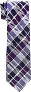 Retreez Modern Tartan Check Styles Woven Boy's Tie - 8-10 years - Various Colors