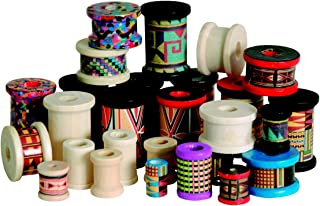 Stanislaus Wood Craft Spool Assortment, 50 to 100 Spools - 1006413