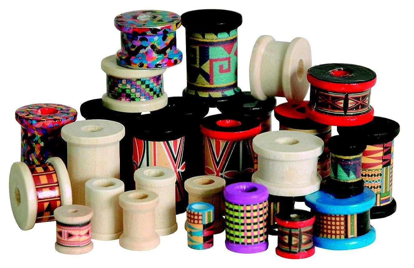Stanislaus Wood Craft Spool Assortment, 50 to 100 Spools