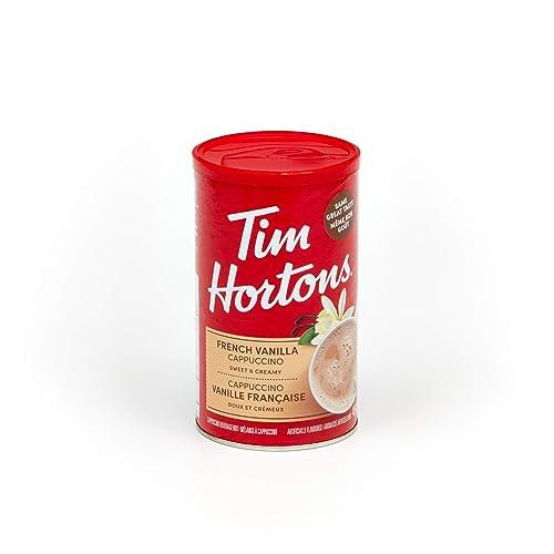 Tim Horton's Instant Cappuccino, French Vanilla, 16 Ounce