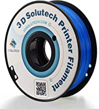 3D Solutech See Through Blue 3D Printer PLA Filament 1.75MM Filament 2.2 LBS 1.0 KG