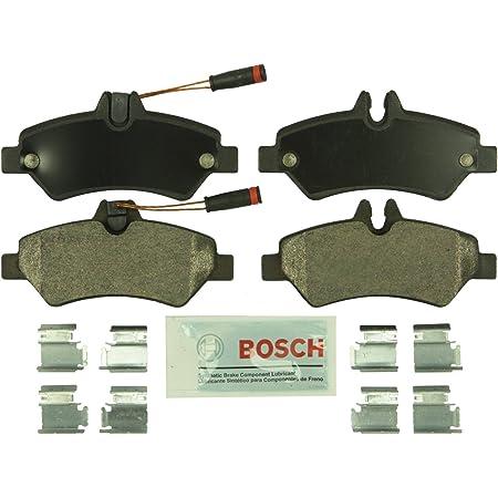 Bosch BE1317H Blue Disc Brake Pad Set with Hardware for Select Dodge, Freightliner, Mercedes-Benz, and Volkswagen Commercial Vans - REAR