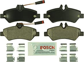 Bosch BE1317H Blue Disc Brake Pad Set with Hardware for Select Dodge, Freightliner, Mercedes-Benz, and Volkswagen Commerci...
