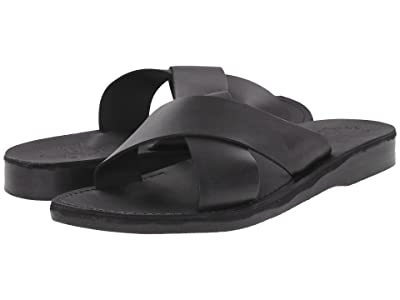 Jerusalem Sandals Elan Mens (Black) Men
