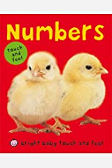 Bright Baby Numbers: Touch and Feel (Bright Baby Touch and Feel) Kindle Edition