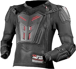 EVS Sports Unisex-Child Comp Suit - Ce Version (Black, Medium)