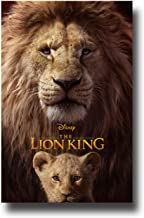 The Lion King Live Action Poster Movie Promo 11 x 17 inches Both Logo