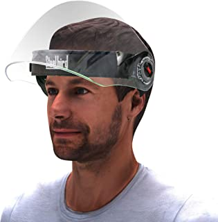 Steelbird YS-10 7Wings Unisex Helmet Visor Face Shield, Flip-Up Full Face Protector For Each and Everyone (Pack of 2)