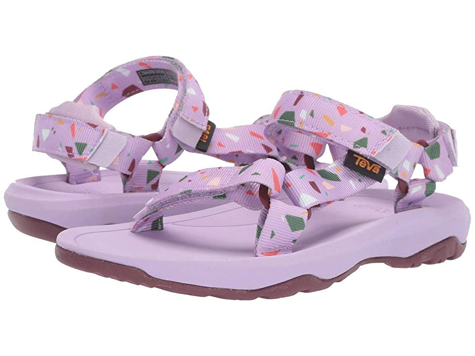 Teva Kids Hurricane XLT 2 Print (Little Kid) (Terrazo Print Orchid) Girls Shoes