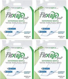 Flexi Life Hasta Alt Açma Yatak Koruyucu Örtü 60 * 90 Cm 120 Adet (4Pk*30) Kaydırmaz