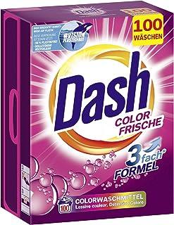 Dash® Kolorowy, świeży proszek I środek piorący do kolorowych prania I 100 cykli prania I Świeże, błyszczące kolory | 6,5 kg