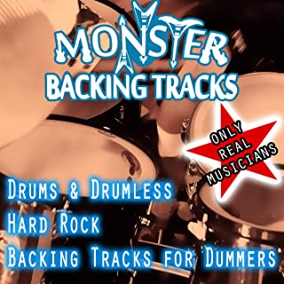 backing track for drums rock