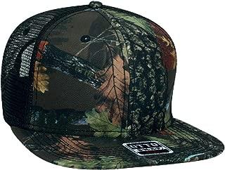 Camouflage Flat Bill Snap Back Trucker Style hat Cap Camo