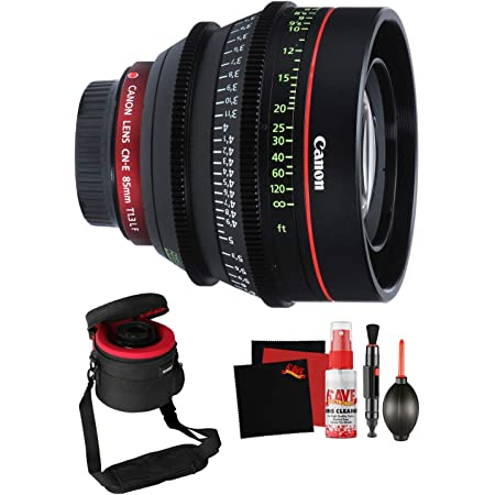 Canon Cn E 85mm T1 3 L F Cine Lens Professional Filmmaker Bundle Camera Photo