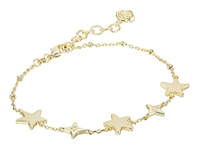Kendra Scott Jae Star Delicate Chain Bracelet (Gold Metal) Bracelet