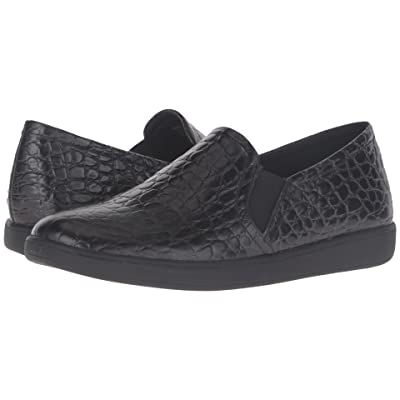 Trotters Americana (Black Croco Leather) Women