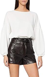 Morgan Short Simili Ceinture Shico Pantalones Cortos para Mujer