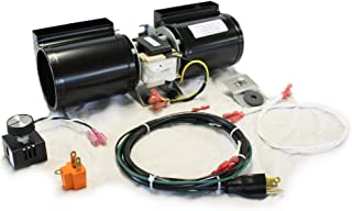 FireplaceBlowersOnline GFK-160 Fireplace Blower Kit for Heat N Glo, Hearth and Home, Quadra Fire, GTI, Fasco, Regency, Royal, Jakel, Nordica, Rotom | Ball Bearing, Quiet, High Air Flow