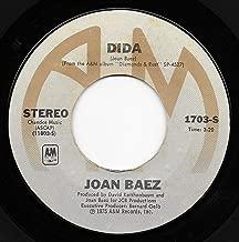 JOAN BAEZ 45 RPM Blue Sky / Dida