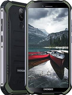 Smartphone, DOOGEE S40 Pro Móvil Libre Resistente, 4GB + 64GB(SD 256GB), Cámara 13MP+2MP, Cámara Frontal 5MP, 4650mAh Movi...