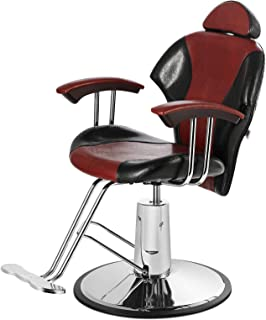 Artist Hand Barber Chairs, All Purpose Heavy Duty Reclining Hydraulic Hair Styling Chair for Barber Shop, H...