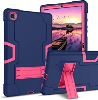 GUAGUA Galaxy Tab A7 10.4 2020 Case SM-T500 T505 T507 Kickstand Hybrid 3 in 1 Heavy Duty Rugged Full Body Cover for Kids S...