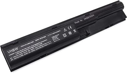 vhbw Akku passend f r HP ProBook 4435s ProBook 4436s ProBook 4530s ProBook 4535s Laptop Notebook Li-Ion 4400mAh 11 1V 48 84Wh schwarz Schätzpreis : 18,99 €
