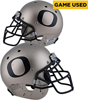 Oregon Ducks Game-Used Bronze and Black Helmet Worn Between the 2014 and 2017 Football Seasons - Single Bar - AA0030228 - Fanatics Authentic Certified
